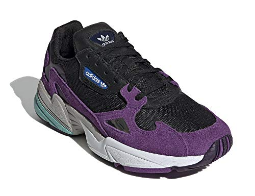 adidas Mujer Falcon W Zapatillas Púrpura, 38 2/3