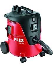 Flex 405418 230/CEE VC 21 L MC Veiligheidszuiger (werkplaatsstofzuiger met handmatige filterreiniging, 20 l, klasse L, 1250 watt, volumestroom 3600 l/min), meerkleurig, 25 stuks