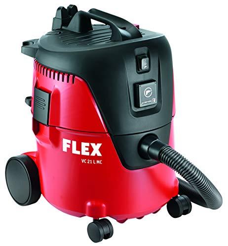 Flex 405418 230/CEE Sicherheitssauger VC 21 L MC (Werkstatt Staubsauger mit manueller Filterabreinigung, 20 l, Klasse L, 1250 Watt, Volumenstrom 3600 l/min), mehrfarbig, 25 Stück