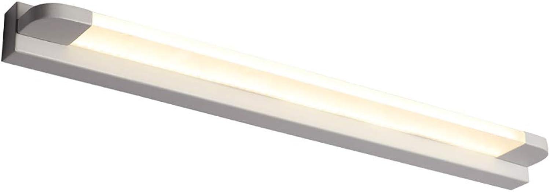 GHL Modern LED Spiegeln Wandleuchte Einfach Modern Schlafzimmer Badezimmer Badezimmer Licht Wand Lampe Weies Licht,Weiß,66Cm
