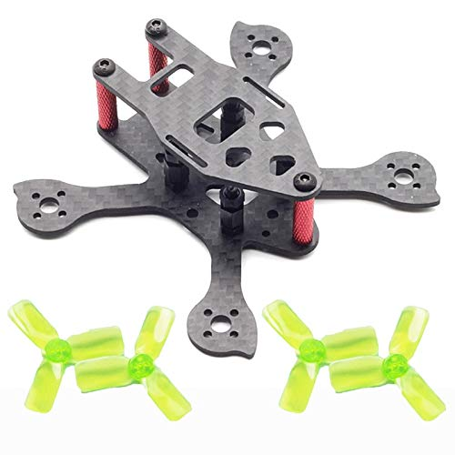 Parts & Accessories Mini IX2 90mm 90 Micro FPV Racing Quadcopter Drone Frame Kit for 1104 Brushless Motor 4Pair 2030 Propeller FPV RC Mini Drone DIY