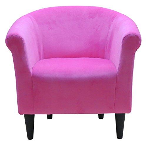 Zipcode Design Liam Barrel Chair, Barrel Accent Chair (Pink)