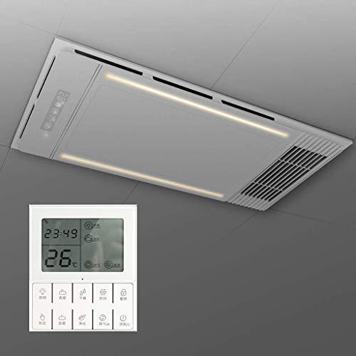 Xinjin 4-en-1 Calentador, Iluminación LED, extractor de aire y del ventilador for el baño y el hogar, baño Sistema de calefacción, montaje del techo, la luz de la noche de inducción y control remoto