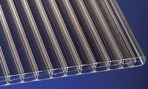 Polycarbonat Stegplatten Hohlkammerplatten bronce 6000 x 980 x 16 mm