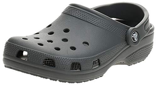 Crocs Classic U, Zuecos con Correa Trasera Unisex Adulto, Slate Grey, 37/38 EU