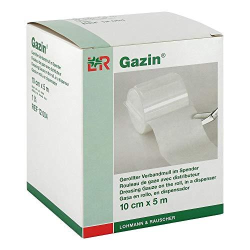 GAZIN Verbandmull 10 cmx5 m 8fach 1 St