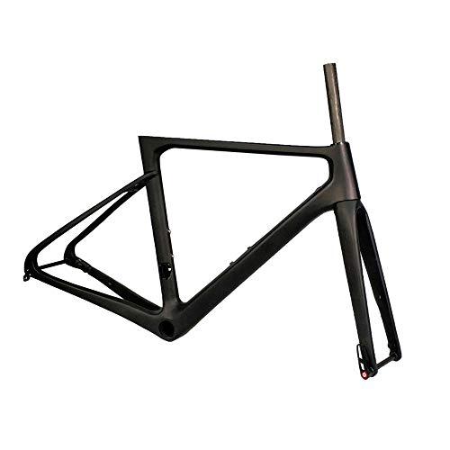 Wenhu Cuadro de Carbono Freno de Disco Cuadro de Bicicleta de Carretera...