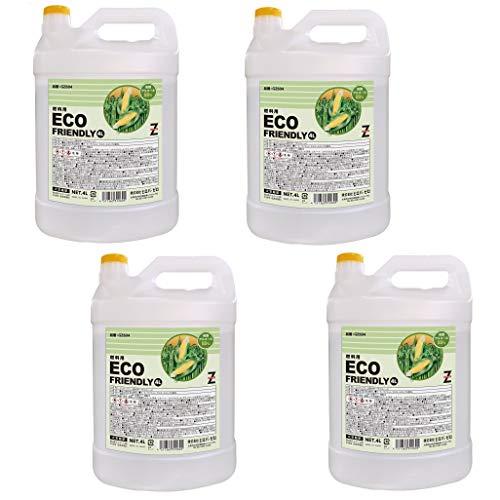 ヒロバ ゼロ ECO FRIENDLY バイオエタノール 発酵アルコール 88パーセント 4L×4個