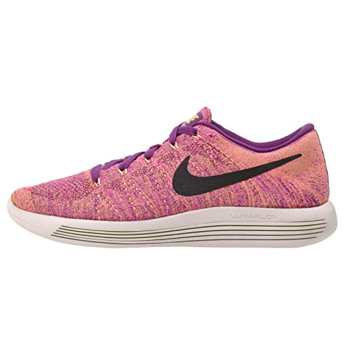 Nike Womens Lunarepic Low Flyknit Running Trainers 843765 Sneakers Shoes (US 7, bright grape 500)