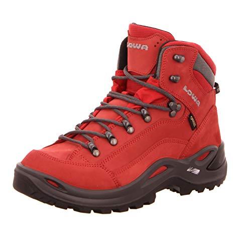 Lowa W Renegade GTX Mid Rot, Damen Gore-Tex Wanderschuh, Größe EU 41 - Farbe Chili