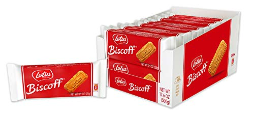 Lotus Biscoff - European Biscuit Cookies - 0.9 Ounce (20 Count) - 20 XL Two-Packs - non GMO Project Verified + Vegan