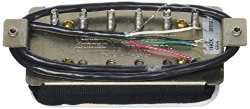 Pastilla de guitarra Seymour Duncan SH-4 JB Humbucker. Blanco.