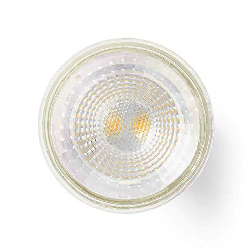 TronicXL 2 Stück LED Lampe GU10 Fassung Par 16 2,3 W 140 lm Gehäuse aus Glas Warmweiss