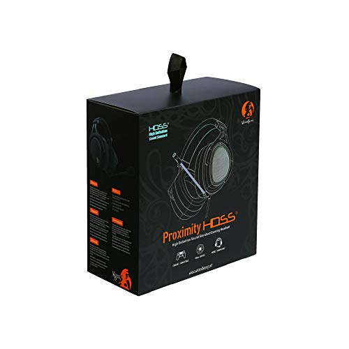 Wicked Bunny Proximity HDSS (High Definition Sound Standard) Gaming Headset, Comfortable Ergonomic Fit coupled with HDSS 3D Sound Stage to give Cystal Clear Sound Quality for Both Gaming and Music