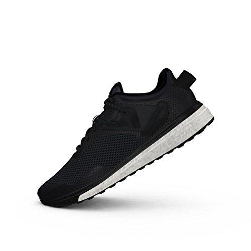 adidas Response 3 M, Zapatillas de Running Hombre, Negro (Negbas/Griosc/Griosc), 40 2/3