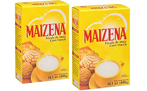 Maizena Corn Starch, 14.10 oz. (pack of 4) Two Pack