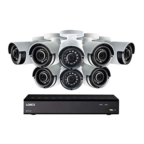 Lorex 1080p HD Security Camera System with 1 Terabyte 8-Channel DVR and Eight 1080p Bullet Cameras