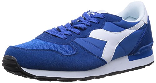 Diadora Men's Camaro Running Shoe (9.5, Blue Reflux/White)