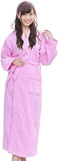 [K sera sera] バスローブ タオル地 男女兼用 綿 タオル ホテル ナイトウェア プレゼント ルームウェア パジャマ