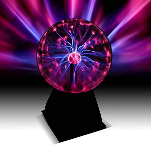 Plasmakugel 20cm - Toller Retro Lichteffekt/Magische Blitze im Plasmaball