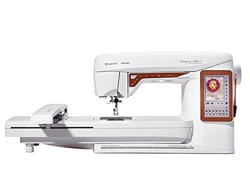 Husqvarna - Máquina de coser diseño Topaz 40 + unidad de bordado 240 x 150