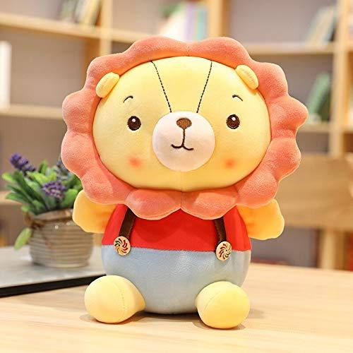 N / A 1 unid león de Dibujos Animados Cosas Lindas muñeco de Peluche Regalo de cumpleaños para niños muñeca de león 30 CM
