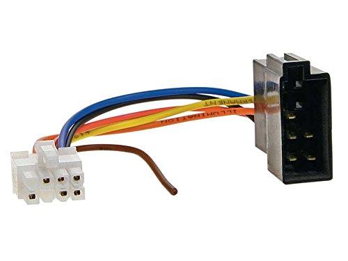 ACV 458004 Radioanschlusskabel auf ISO für Clarion ISO 8 Pin