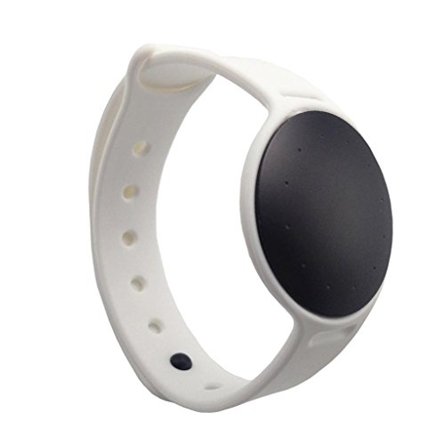 Fityle New Sports TPE Replacement Strap Wrist Band for Misfit Shine 2 Watch Belt - White, as described