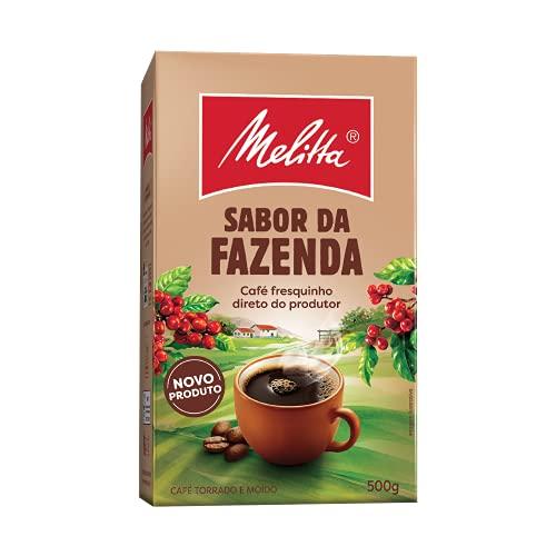 Café Tradicional Sabor da Fazenda Melitta Vácuo 500g