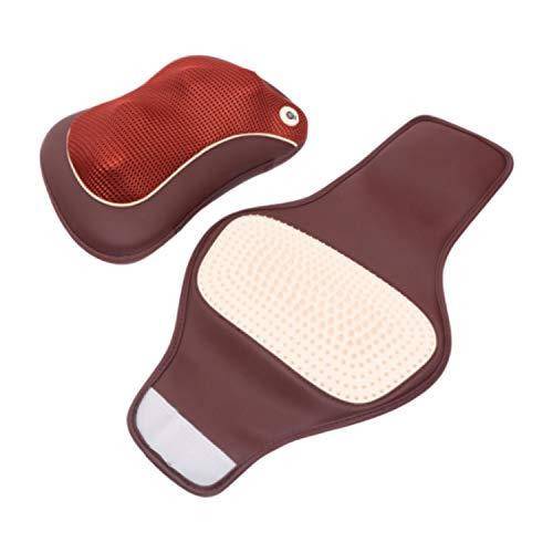 Akupressur massagekissen/Akupressur- und Massagekissen zur effektiven Lockerung und Lösung von Verspannungen/Mit Infrarot-Heizung und Auto-Ladekabel GESS®