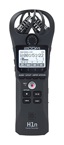 ZOOM H1n HANDY RECORDER BLACK - 120 GL