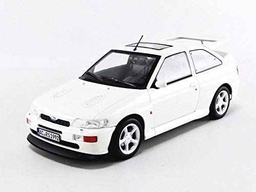 Norev NV182776 1:18 1992 Ford Escort Cosworth LHD-Blanco