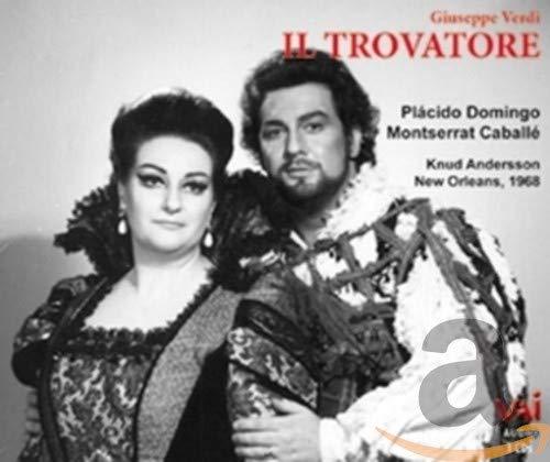 Il Trovatore (Verdi) Domingo, Caballè New Orleans 1968