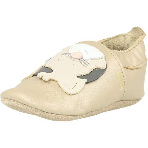 Bobux Krabbelschuhe Für Baby, Baby Schuhe, Baby Geschenk, Gold Leopard, 22 EU