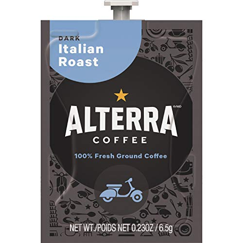 Flavia Alterra, MDKA186, Italian Roast Coffee, 100 / Carton