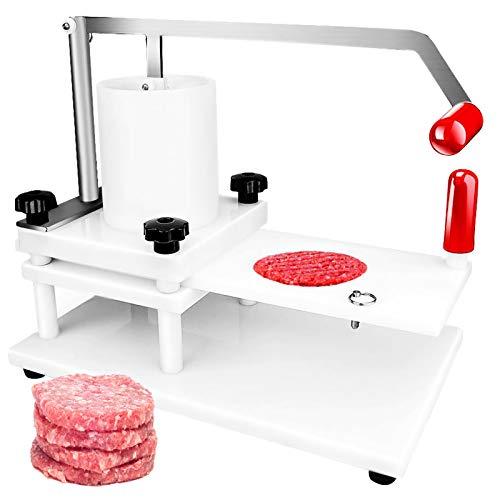 VEVOR Hamburgatrice Diametro 130mm 5,1pollici Hamburger Pressa Manuale Macchina per Hamburger Tortino per Hamburger Commerciale