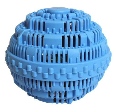 Eco-washing ball boule de lavage machine a laver   Boule de lavage avec microsphères   Boule doseuse lessive jusquà 1000 lavages   Boule linge