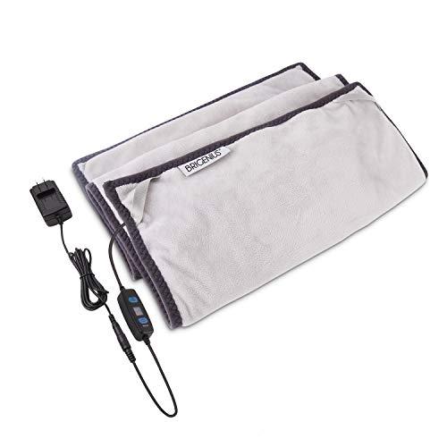 Graphene Heizung Pad mit Abschaltautomatik, 30 x 60 cm Kleine Heizdecke mit 3 Temperaturstufen, Innovativ Elektronisches Wärmekissen zur Linderung von Rückenmerzen, Taillenmerzen und Bauchschmerzen