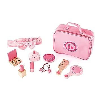Award Winning Hape Beauty Belongings Kid s Wooden Cosmetics Pretend Play Kit Multi L  7.5 W  3.1 H  6.3 inch