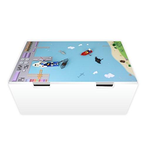 nikima Schönes für Kinder Spielfolie für STUVA Hafen und Insel (Möbel Nicht Inklusive)