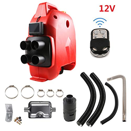 Buy BSWL All in One Air Diesel Heater 4-Hole Parking Heater with Remote Display, Suitable for Trucks...