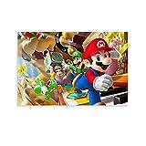 Póster decorativo de Mario Bros. 40 x 60 cm