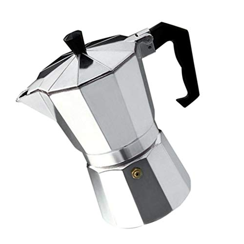 joyMerit Stovetop Espresso Maker, Italian Espresso Coffee Maker, Stainless Steel Espresso Maker Machine For Full Bodied Coffee, Espresso Pot Moka Pot 3-Cup