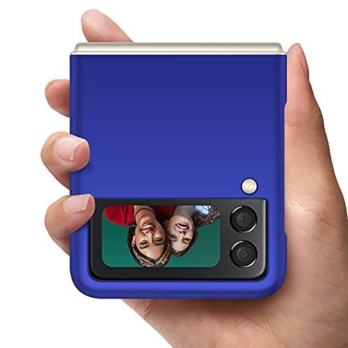 YIIWAY Compatibile con Cover Samsung Galaxy Z Flip 3 5G, Blu Ultra Sottile Custodia Cover Case Compatibile con Samsung Galaxy Z Flip3 5G YW42401