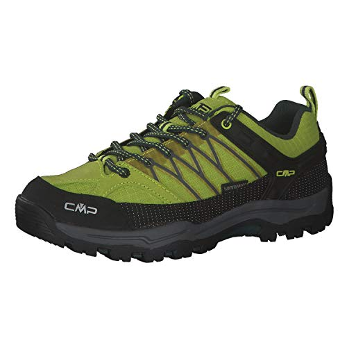 CMP Rigel Low Trekking Shoe WP, Zapatillas para Caminar, Energy Jungle, 29 EU
