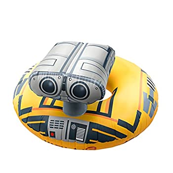 GoFloats Disney Pixar Wall-E Party Tube  for Adults and Kids  Yellow  DIS-PT-WALLE-WALLE