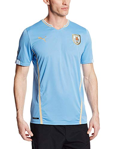 R¨¦plica de jersey de f¨²tbol Puma Uruguay para casa, Silver Lake, peque?o