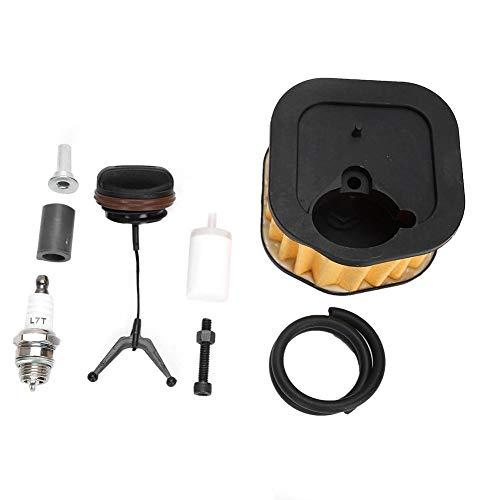 Blantye Filtro de Aire Filtro de Combustible Sparking Plug Kit de reemplazo Fit para Husqvarna 385XP 390XP 385 390 Motosierra