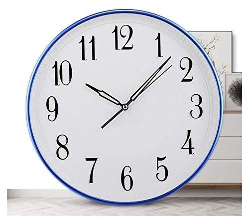 Desktop-Skulptur Uhr stille uhr 13 zoll wandkunst dekoration wohnzimmer schlafzimmer speisesaal kreative dreidimensionale hause wanduhr dekoration (Color : Silver)