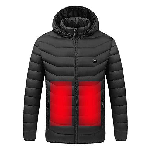 ZR1LZ Chaleco térmico Chaqueta térmica eléctrica Ligero,En Trineo/Moto/Alpino/Camping/Senderismo/esquí/Pesca